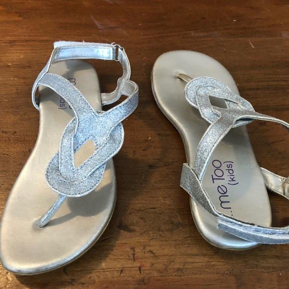 dfabdb44b9 Me Too Little girls sandals